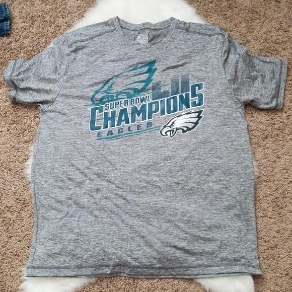 c4a93169116 fanatics Shirts | Mens Super Bowl Champions Phil Eagles Shirt | Poshmark